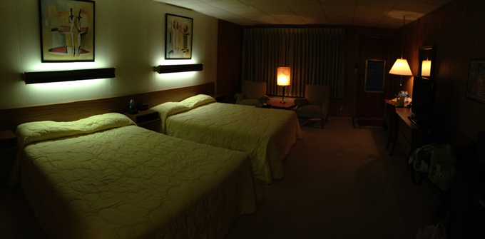 Creepy Motel Room