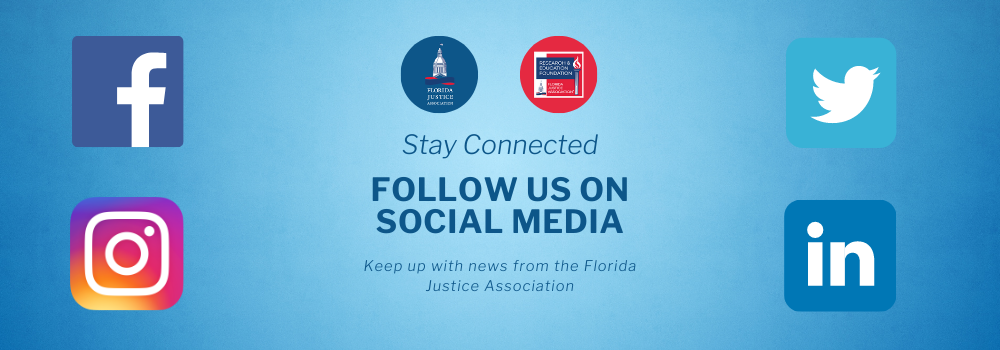 Follow the FJA on Social Media