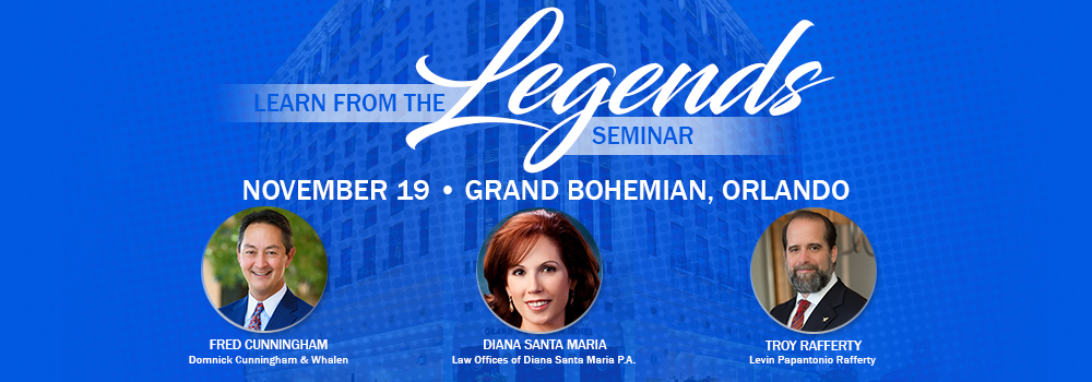 Learn From the Legends Seminar